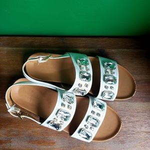Kate Spade Embellished Sandals- slingback